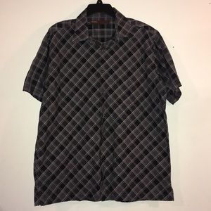 Perry Ellis XL Classic Casual Short Sleeve Shirt